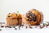 Pyszne muffiny z czekoladą